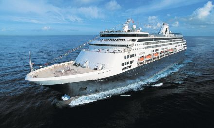 Cruise Ship Rescues Stranded Parachutist