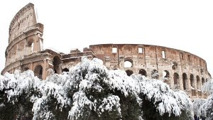 Rome In The Snow