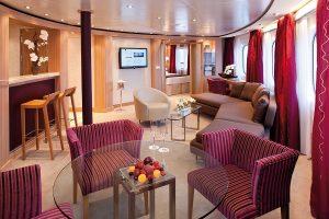 Silversea suite