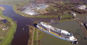Anthem of the Seas river trial