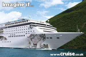 What if LAdy Gaga was a cruise ship godmother