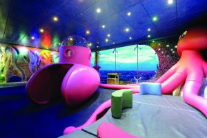 MSC Underwater World Playroom