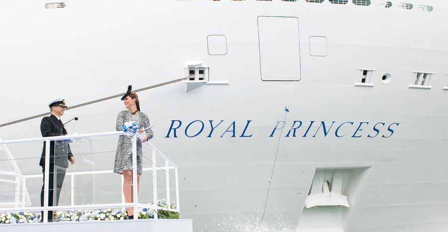 Princess Cruises, Royal princess Naming Ceromony