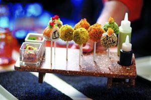 sushi lollipops on celebrity