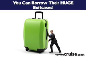You can borrow their huge suitcase