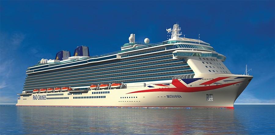 Introduction To The PO Britannia - Britannia cruise ship