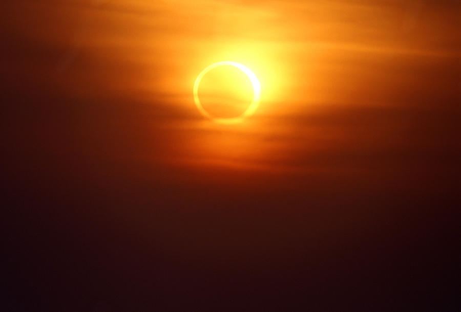 Cruising Eclipsed By…. An Eclipse