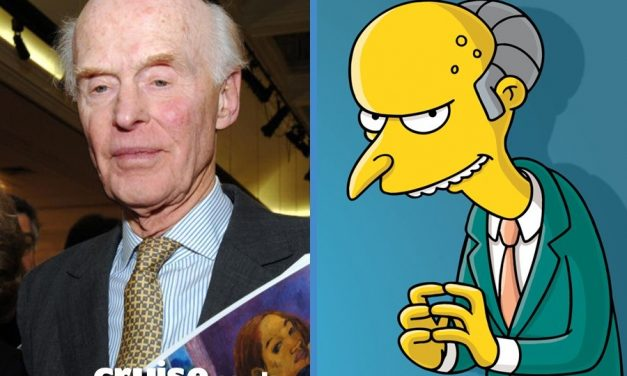 Simpson Tycoon Monty Burns Based On Fred Olsen