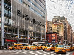 New York Times head office