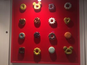 Donuts on the wall