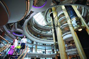 Atrium thomson cruises