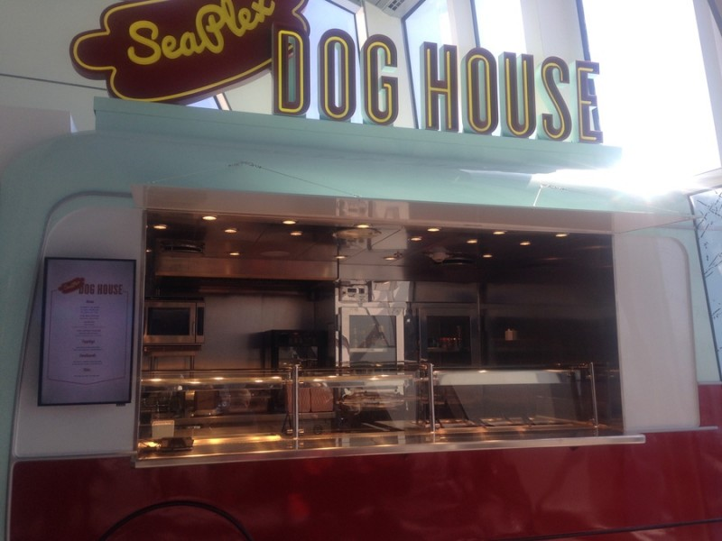 SeaPlex dog house