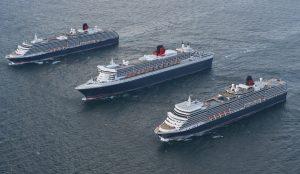 All three Cunard Queens