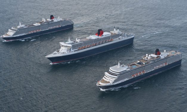 See Three Cunard Queens in Liverpool Next Month
