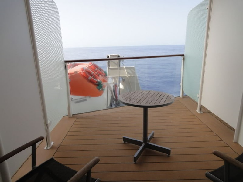 Deluxe Veranda (obstructed view) (2D) Celebrity Solstice ...