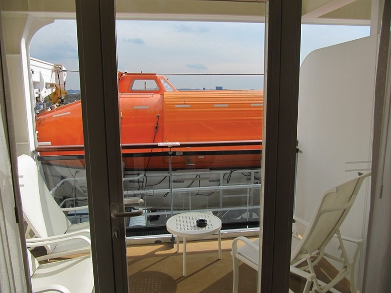 Seven cruise ship cabins that are worth considering for Cruise ship balcony view