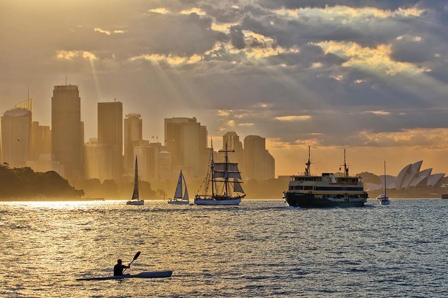 kayaking australia