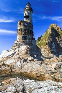 Aniva Rock House Lighthouse, Russia