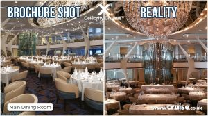 Celebrity Eclipse Main Dining Room