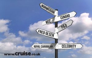 Cruise sign post