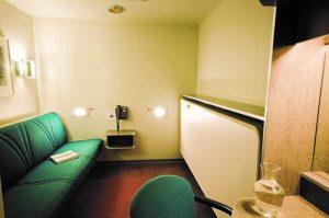 Hurtigruten cabin inside