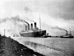 titanic memorabilia