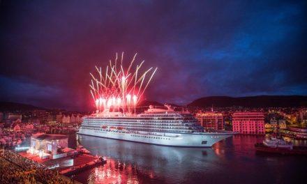 Viking Cruises Christen Their First Ocean Ship