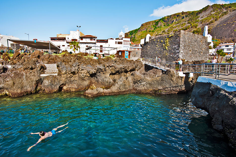 Tenerife cruising sunny side up for Piscinas naturales de alcala tenerife
