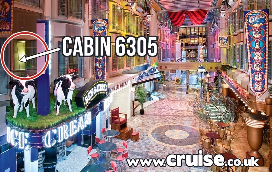 Cabin 6305 Independence of the Seas