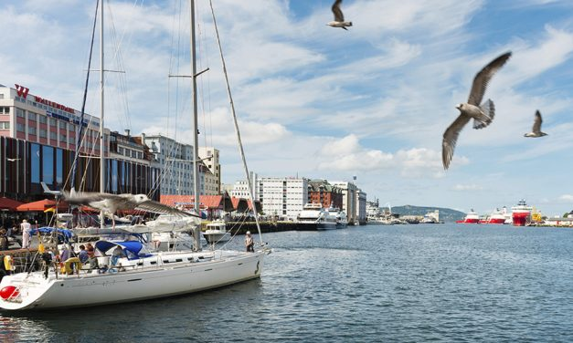 Historic Meeting For Cruise Ships in Bergen