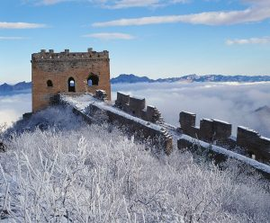 great wall of china frozen