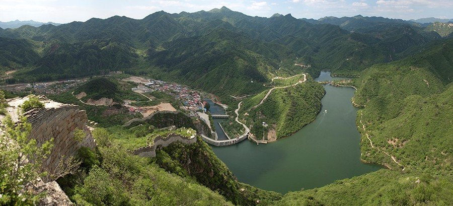 great wall of china lakes