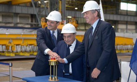 World's Leading Shipyard Starts Work on MSC Seaside