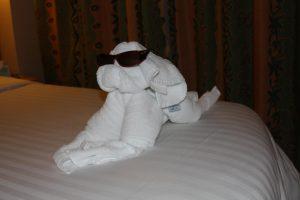 Cool pooch towel animal