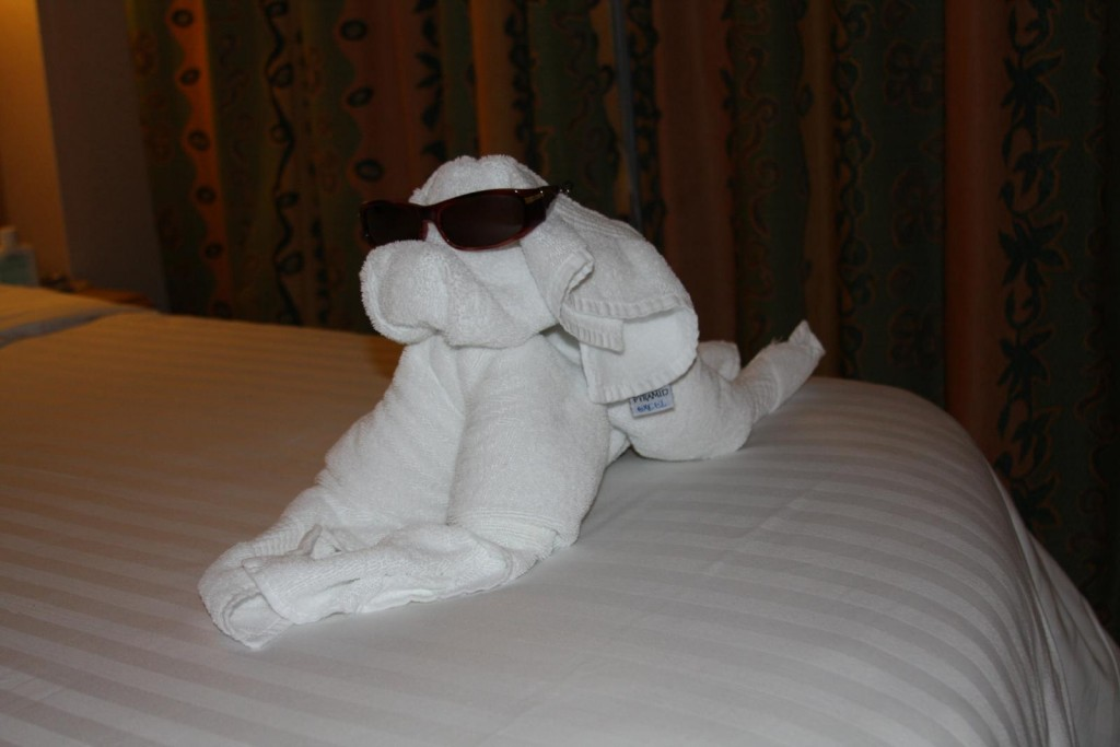 cool towel animals - Cool pooch