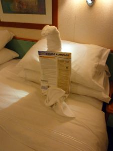 Snake towel animal