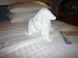 towel animal spaniel