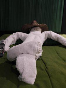 cowboy towel animal