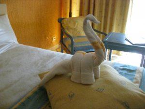 dinosaur towel animal
