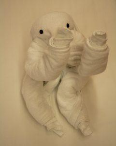 towel animal art