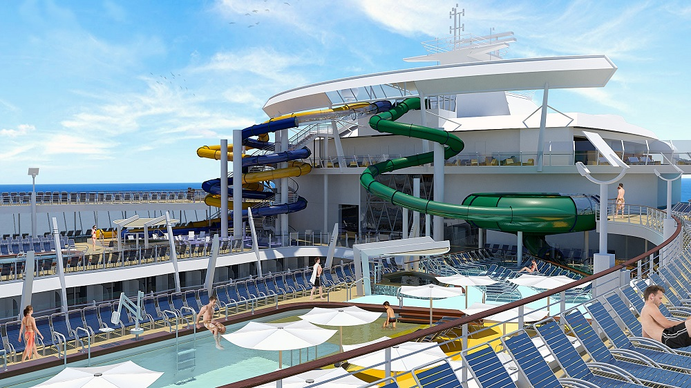 Harmony of the Seas to Feature Biggest Waterslide at Sea