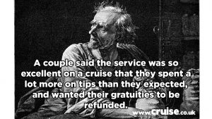 Scrooge cruise complaint