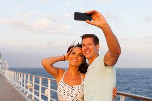cruise ship selfie
