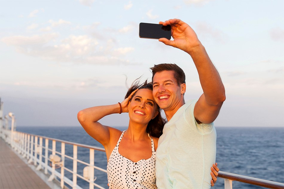 Packing For Your Cruise - cruise ship selfie