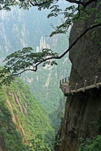 Side of Mt hua shan