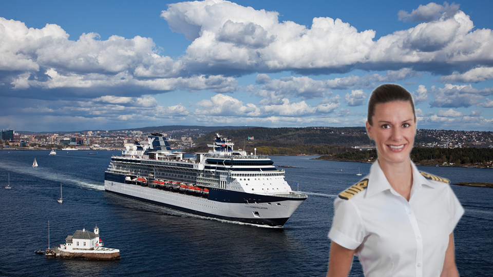 Celebrity Cruises Welcomes Industrys First American Female - How do you become a captain of a cruise ship