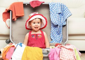 packing with kids