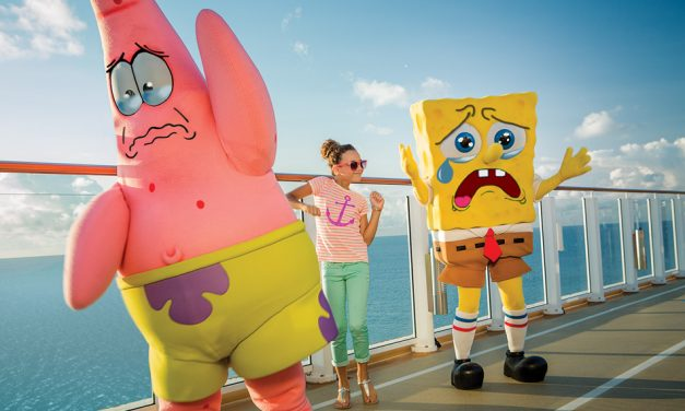 SpongeBob SackedPants: NCL Fire Nickelodeon