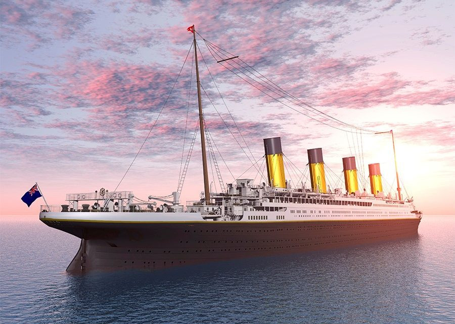 Video Of A Boy Building 6 Metre Scale Replica Of Titanic Goes Viral