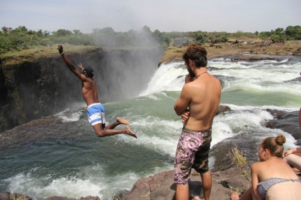 Diving into the Devils Pool